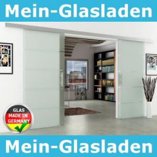 Glasschiebetüren 2-Flügelig DORMA AGILE 50 2050x2050mm - Vorschau 1