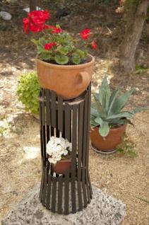 Blumensäule Albero 60cm Blumenhocker Metall Blumentisch Blumenständer Hocker - Vorschau 5