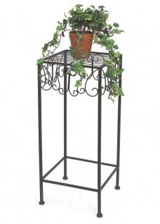 Blumenhocker 140127-L Blumenständer 60 cm Pflanzenständer Hocker Beistelltisch - Vorschau 3