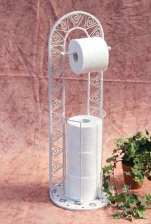 Toilettenrollenständer 091427 Weiß 70cm Toilettenpapierhalter WC - Rollenständer