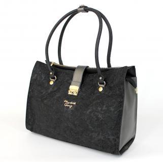 Elizabeth George Damen Handtasche 743 06 Henkeltasche Damentasche Tragetasche Schultertasche Shopper