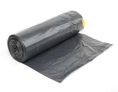 100x Müllsäcke 60l Zugband Extra Reißfest Stark Abfallsäcke Zugbandsack Müllsack - Vorschau 3