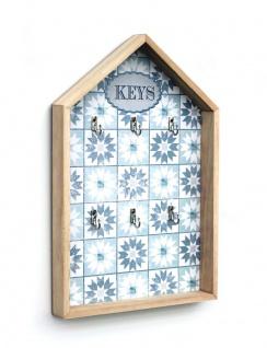 Schlüsselkasten Weiß Holz Keys 32594 Schlüsselbox Schlüsselschrank Landhaus Vintage Shabby Chic - Vorschau 3