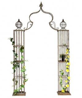 Rosenbogen Metall Kletterhilfe 93969 275x172 cm Gartenbogen Rankhilfe Rankgitter Torbogen
