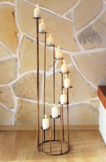 Kerzenständer Metall kerzenständer 225 aus schmiedeeisen 102cm kerzenleuchter