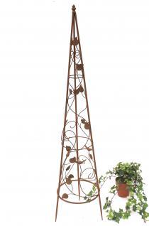 Rankhilfe Pyramide 082547 aus Metall M-118cm Kletterhilfe Rankgerüst Ranke