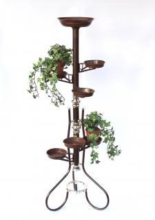 Blumentreppe Art.5 Blumenständer Blumensäule 126cm Pflanzsäule Pflanzenständer