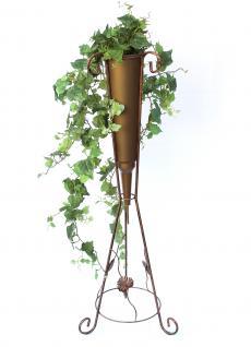 Blumensäule mit Vase Art.380 Blumenständer 100cm Pflanzsäule Pflanzständer