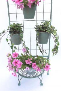 Kräuterregal Blumentreppe 172cm Blumenregal 110292 Blumenständer Pflanzenständer - Vorschau 2