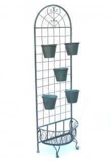 Kräuterregal Blumentreppe 172cm Blumenregal 110292 Blumenständer Pflanzenständer - Vorschau 3