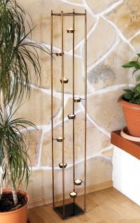 lichtsaule 10 768 teelichthalter 132cm teelicht stander fur 9 teelichter kerzenhalter