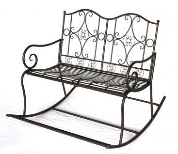 schaukelbank dy140489 gartenbank aus metall bank 105cm. Black Bedroom Furniture Sets. Home Design Ideas