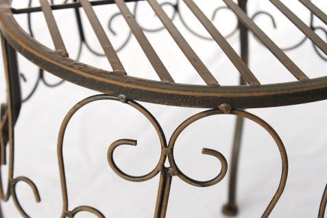 Blumenhocker 140129 S Blumenständer 25cm Pflanzenständer Hocker Beistelltisch Tisch - Vorschau 3