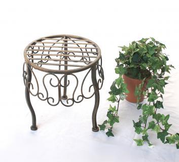Blumenhocker 140129 S Blumenständer 25cm Pflanzenständer Hocker Beistelltisch Tisch - Vorschau 5