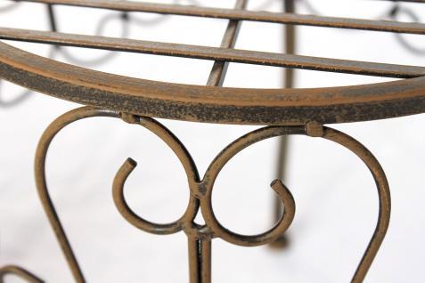 Blumenhocker 140129 M Blumenständer 30cm Pflanzenständer Hocker Beistelltisch Tisch - Vorschau 3