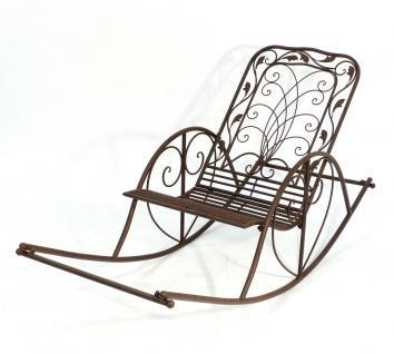 Schaukelstuhl Puerto 18355 Liegestuhl aus Metall Sessel Schwingsessel Relaxstuhl
