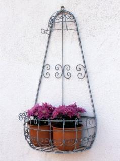 Wandblumenhalter Romance 75cm Blumenständer 20313 Metall Wandregal Blumenregal