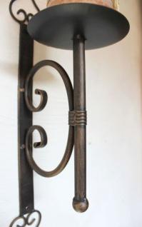Wandkerzenhalter 12110 Kerzenhalter aus Metall Wandleuchter 41cm Kerzenleuchter - Vorschau 3