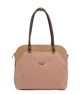 Elizabeth George Damen Handtasche 781-45 Damentasche Henkeltasche Tragetasche Schultertasche Shopper