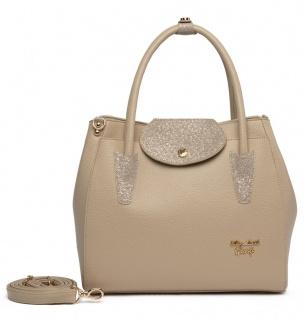 Elizabeth George Damen Handtasche 796-3 Damentasche Henkeltasche Tragetasche Schultertasche Shopper