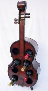 Weinregal Flaschenregal Flaschenständer Cello aus Holz Flaschenh - Vorschau 3