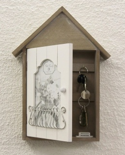 Schlüsselkasten mit Bilderrahmen 17431 Schlüsselkästchen 34cm Schlüsselschrank - Vorschau 2