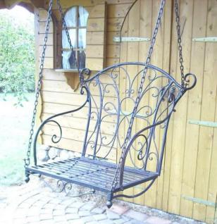 Schaukel Hängesessel 18811 Sessel aus Metall Schmiedeeisen Hängebank Einsitzer