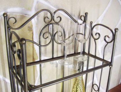 Weinregal 94031 Flaschenständer aus Metall 115cm Flaschenhalter Regal Bar - Vorschau 3