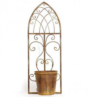 wand blumentopf birdy 18742 blumenst nder aus metall. Black Bedroom Furniture Sets. Home Design Ideas