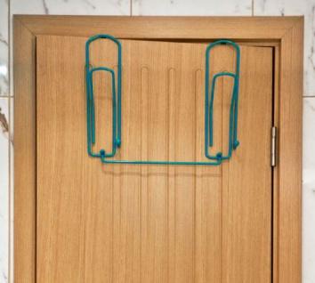 """Designer Türgarderobe """" Büroklammer"""" 32cm Türhaken Garderobe Kleiderhaken Haken - Vorschau 3"""