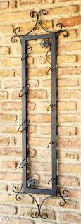 Weinregal Vino 130cm Diagonal aus Metall Flaschenständer Wandregal Bar Flaschenhalter - Vorschau 3