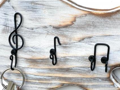 DanDiBo Schlüsselbrett Holz Handmade 96107 Gitarre Schlüsselboard Schlüsselhaken Schlüsselleiste Schlüsselkasten - Vorschau 4