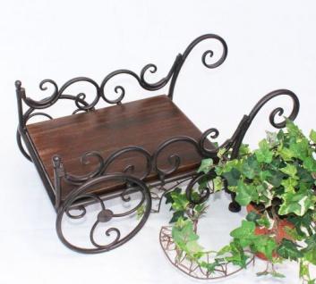 Pflanzkarre HX12596 Schubkarre Karre Blumenkasten Blumens