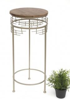 Blumenhocker Metall 21288-L Blumenständer 73 cm Rund Beistelltisch Modern