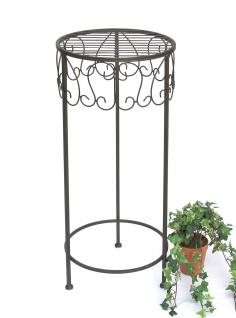 Blumenhocker 140128-L 70 cm Blumenständer Pflanzenständer Hocker Beistelltisch