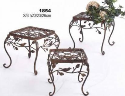 Blumenhocker 1854 Blumenständer Pflanzenständer 3er Set Avis