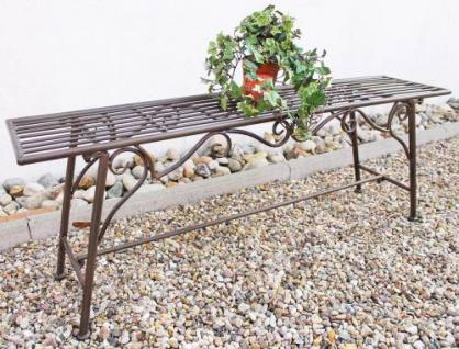 """Bank Sitzbank """" CUCCIU-XL"""" B-120cm 077824 Gartenbank aus Metall Ga"""