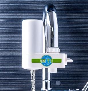 Bio Water Ersatzfilter für Wasserfilter 93838 Wasserhahn mit Hahnschalter Wasser Filtersystem