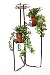 Blumentreppe Art.2A Blumenständer Blumensäule 90cm Pflanzsäule Pflanzenständer