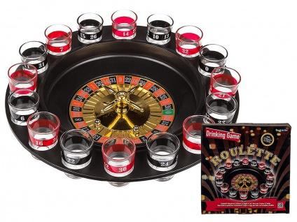 Trinkspiel Roulette Partyspiel 79-3988 Lustig Saufspiel Party Casino Feier Spiel