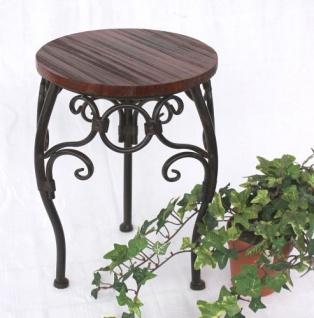 Blumenhocker HX12592 Blumenständer 34cm Rund Blumensäule Tisch Beistelltisch