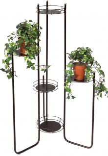 Blumentreppe Art.4A Blumenständer Blumensäule 102cm Pflanzsäule Pflanzenständer