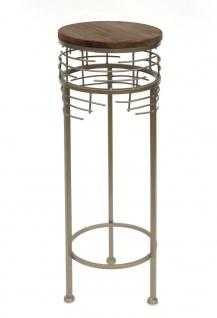 Blumenhocker Metall 21288 2er Set Blumenständer Rund Beistelltisch Modern - Vorschau 5