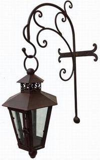 Wandlaterne Piola 54cm mit Halter 079884 Windlicht Laterne mit Haken aus Metall - Vorschau 4