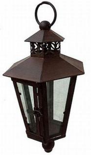 Wandlaterne Piola 54cm mit Halter 079884 Windlicht Laterne mit Haken aus Metall - Vorschau 2