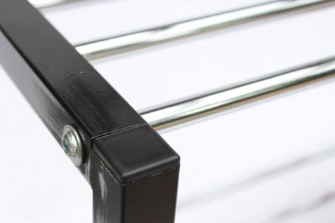 Schuhregal Art.388 Schuhbank 70cm Schuhschrank aus Metall Schuhablage Modern - Vorschau 3
