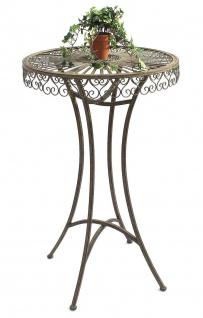 DanDiBo Stehtisch Garten Metall Antik 130414 Tisch H-106cm D-65cm Gartentisch Bistrotisch Bartisch - Vorschau 1