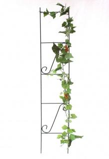 Rankhilfe Rankgitter Art.321 Kletterhilfe aus Metall 150cm Grün Steckzaun Zaun