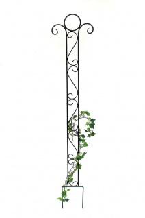 Rankhilfe Classic Rankgitter aus Metall 135cm Kletterhilfe Bodenstecker Stecker