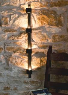 Wandteelichthalter Four 93005 Wandkerzenhalter Metall 92cm Teelichthalter Kerzenhalter